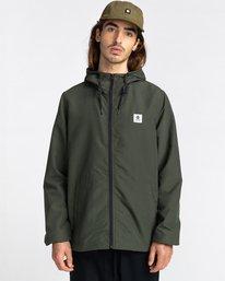 0 Wolfeboro Alder - Water-Resistant Jacket for Men Green U1JKC3ELF0 Element