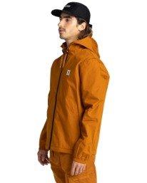 2 Wolfeboro Alder - Water-Resistant Jacket for Men Beige U1JKC3ELF0 Element