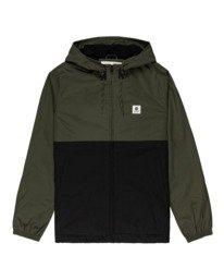 0 Wolfeboro Alder Two Tones - Water-Resistant Jacket for Men Black U1JKC4ELF0 Element