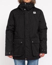 0 Wolfeboro Fargo - Water-Resistant Jacket for Men Black U1JKC9ELF0 Element