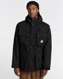 0 Wolfeboro Mountain - Water-Resistant Jacket for Men Black U1JKD4ELF0 Element