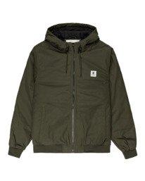 0 Wolfeboro Dulcey - Water-Resistant Jacket for Men Green U1JKF2ELF0 Element