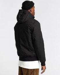 3 Wolfeboro Dulcey - Water-Resistant Jacket for Men Black U1JKF2ELF0 Element