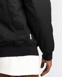4 Wolfeboro Dulcey - Water-Resistant Jacket for Men Black U1JKF2ELF0 Element