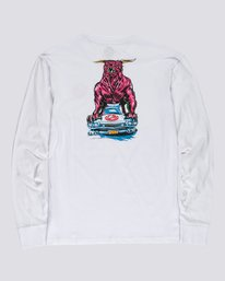 0 Ghostbusters Crushed - Long Sleeve T-Shirt for Men White U1LSE4ELF0 Element