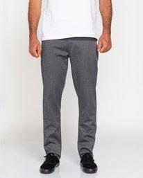 0 Howland Classic - Pantalon chino pour Homme Gris U1PTC1ELF0 Element