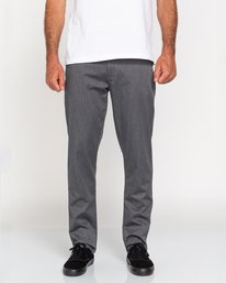0 Howland Classic - Pantalón chino para Hombre Gris U1PTC1ELF0 Element