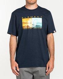 0 Sentinel - T-shirt pour Homme Bleu U1SSB9ELF0 Element