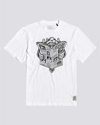 0 Timber! The Remains News Man - T-Shirt for Men White U1SSH3ELF0 Element