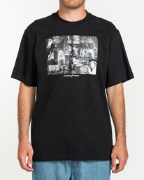 0 Bad Brains Collage - T-shirt pour Homme Noir U1SSI4ELF0 Element