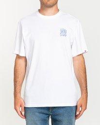3 Larimer - T-shirt pour Homme Blanc U1SSJ6ELF0 Element
