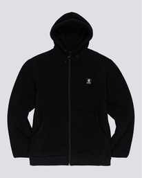 0 Wolfeboro Greenland - Zip-Up Hoodie for Men Black U1WAA8ELF0 Element