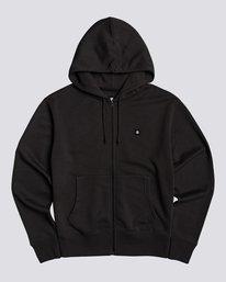 0 92 - Zip-Up Hoodie for Men Black U1ZHA2ELF0 Element