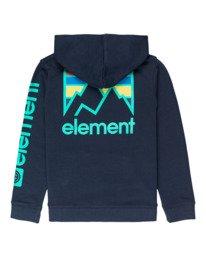 1 Joint - Hoodie for Boys Blue U2HOA5ELF0 Element