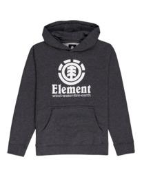 0 Vertical - Hoodie for Boys Grey U2HOA6ELF0 Element