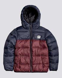 0 Wolfeboro Alder Avalanche - Water-Resistant Jacket for Boys Red U2JKA8ELF0 Element