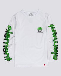 0 Ghostbusters Proton Combo - Long Sleeve T-Shirt for Boys White U2LSA6ELF0 Element