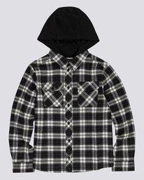 0 Tacoma 2C - Hooded Shirt for Boys Black U2SHA1ELF0 Element