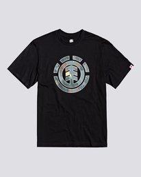 0 Water Camo Icon Fill - Maglietta da Ragazzo Black U2SSB2ELF0 Element