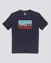 0 Wander - Maglietta da Ragazzo Blue U2SSB6ELF0 Element