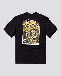 0 Timber! The Remains Liberty - Maglietta da Ragazzo Black U2SSC6ELF0 Element