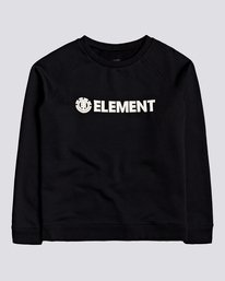0 Logic - Sweat pour Femme Noir U3CRA2ELF0 Element
