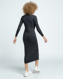 4 Jenni - Robe pour Femme Gris U3DRA5ELF0 Element
