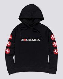 0 Ghostbusters Ghost - Sweat à capuche pour Femme Noir U3HOA9ELF0 Element