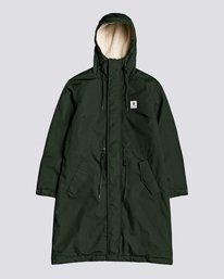 0 Wolfeboro Field - Water-Resistant Jacket for Women Green U3JKA1ELF0 Element