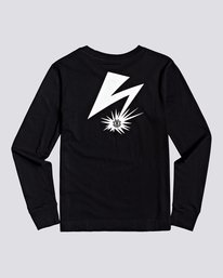 0 Bad Brains Listen 2 Bb - Long Sleeve T-Shirt for Women Black U3LSA3ELF0 Element