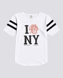 0 Timber! The Remains I Heart Football - T-Shirt for Women White U3SSA2ELF0 Element