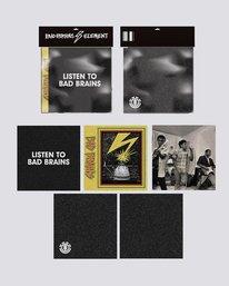 0 Bad Brains Bad Brains Album Pack - Skateboard Deck Grip Black U4AHA5ELF0 Element