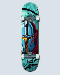 """0 Star Wars X Element 7.75"""" Mando - Skateboard pour Unisex  U4CPD5ELF0 Element"""