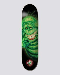 "0 Ghostbusters 8.5"" Slimer - Skateboard Deck  U4DCA9ELF0 Element"
