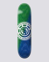 "0 8.38"" Seal Green Blue - Skateboard Deck  U4DCE3ELF0 Element"