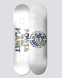 "0 Power To The Planet 8"" Seal - Skateboard Deck  U4DCJ5ELF0 Element"