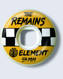 0 Timber! The Remains Timber Remains 54mm - Skate Wheels for Unisex Black U4WHA2ELF0 Element