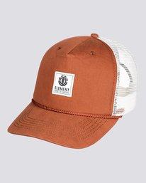 0 Wolfeboro Bark - Cappellino Trucker da Uomo  U5CTA6ELF0 Element