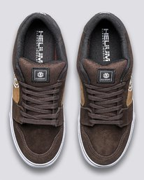 3 Heatley - Recycled & Organic Shoes for Men Brown U6HEA101 Element