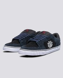 1 Heatley - Recycled & Organic Shoes for Men Blue U6HEA101 Element