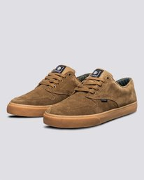 1 Topaz C3 - Recycled & Organic Shoes for Men Brown U6TC3101 Element