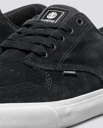 5 Topaz C3 - Recycled & Organic Shoes for Men Black U6TC3101 Element
