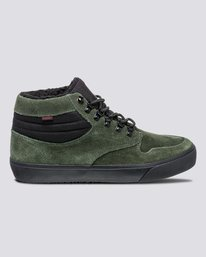 0 Wolfeboro Topaz C3 - Recycelte Bio-Mid-Top Schuhe für Männer Grün U6TM3101 Element