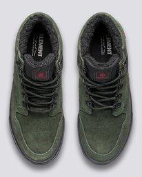 3 Wolfeboro Topaz C3 - Recycelte Bio-Mid-Top Schuhe für Männer Grün U6TM3101 Element