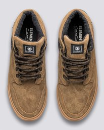 3 Wolfeboro Topaz C3 - Recycled & Organic Mid-Top Shoes for Men Brown U6TM3101 Element