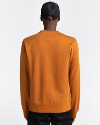 3 Cornell Classic - Sweatshirt for Unisex Beige W1CRB5ELP1 Element