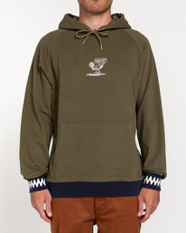 0 Peanuts Zigzag - Hoodie for Men Green W1FLB4ELP1 Element