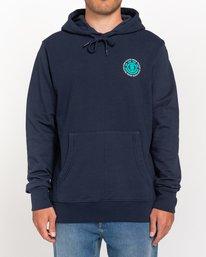 2 Seal - Sudadera con capucha para Hombre Azul W1HOB8ELP1 Element