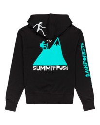 1 Fernando Elvira Summit Push - Sudadera con capucha para Hombre Negro W1HOD5ELP1 Element