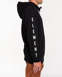 2 Karlov - Sudadera con capucha para Hombre Negro W1HOD9ELP1 Element